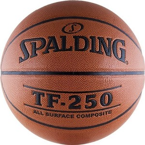 Мяч баскетбольный Spalding TF-250 All Surface р.7 (74-531z)
