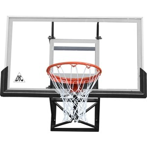 Баскетбольный щит DFC BOARD60P 152x90 см поликарбонат баскетбольный щит dfc kids2 черный
