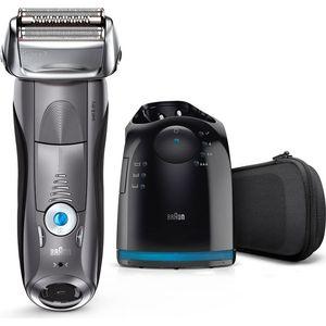 Электробритва Braun 7865cc черный/синий цена