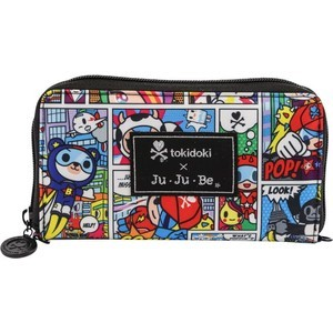 Кошелек Ju-Ju-Be Be Spendy tokidoki super toki (15WA02T-9892) ju ju be сумка для мамы ju ju be super be tokidoki iconic 2