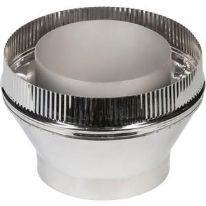 Переходник Феникс труба/сэндвич диаметр 150/200 мм (1.0 нерж.мат./0.5 оцинк.)(00826) фото