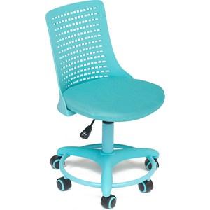 Офисное кресло TetChair Kiddy, ткань, бирюзовый