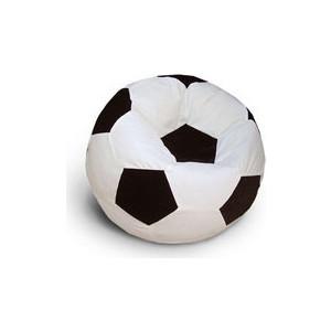 Кресло - мешок Мяч POOFF Оксфорд черно-белый