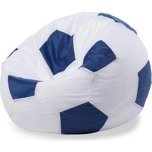 Кресло - мешок Мяч POOFF Оксфорд сине-белый