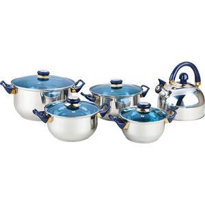 Набор посуды 9 предметов Bekker Classic (BK-4605) набор сит bekker bk 9213