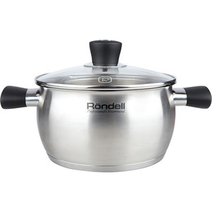 Кастрюля 2.4 л/18 см Rondell Dominant (RDS-831) pot with lid rondell rds 831