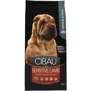 Сухой корм Farmina CIBAU Sensitive Lamb Medium & Maxi Breed с ягненком для взрослых собак средних и крупных пород 12кг (31044)