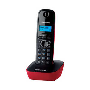 Радиотелефон Panasonic KX-TG1611RUR panasonic kx tg1611rur red