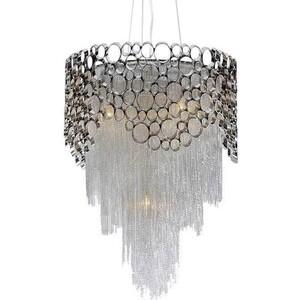 Подвесной светильник Crystal Lux Hauberk Sp-PL8 D60 crystal lux flamingo sp pl5 white