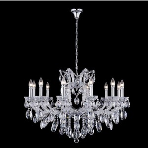Подвесная люстра Crystal Lux Hollywood SP12 Chrome цена