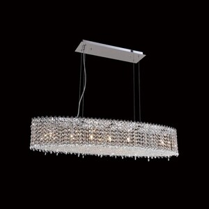 Подвесной светильник Crystal Lux Eternidat SP7 Chrome светильник ideal lux niagara alba sp7 oval