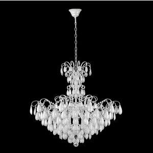 Фото - Подвесная люстра Crystal Lux Sevilia SP9 Silver потолочная люстра crystal lux sevilia pl6 silver