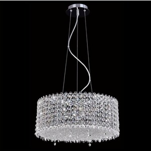 Подвесной светильник Crystal Lux Eternidat SP6 Chrome