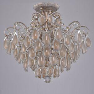 Фото - Потолочная люстра Crystal Lux Sevilia PL4 Gold потолочная люстра crystal lux sevilia pl6 silver