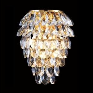Настенный светильник Crystal Lux Charme AP2+2 LED Gold/Transparent