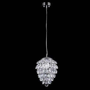 Подвесной светильник Crystal Lux Charme SP1+1 Led Chrome/Transparent
