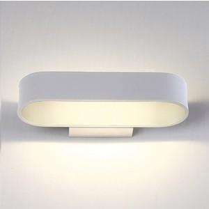 Настенный светодиодный светильник Crystal Lux CLT 511W260 WH настенный светильник crystal lux clt 222w wh