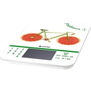Весы кухонные Vitek VT-2413(W) весы кухонные vitek vt 8021 st серебристый