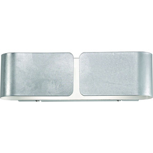 Настенный светильник Ideal Lux Clip AP2 Small Argento настенный светильник ideal lux clip ap2 mini oro 091129