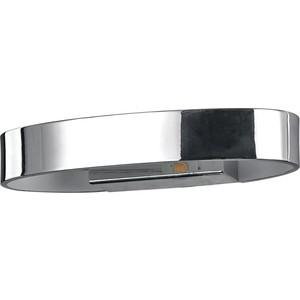 Настенный светодиодный светильник Ideal Lux Zed AP1 Oval Cromo все цены