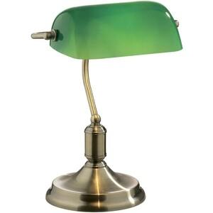 Настольная лампа Ideal Lux Lawyer TL1 Brunito ideal lux настольная лампа ideal lux candy tl1 d25