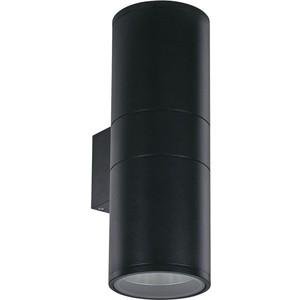 Уличный настенный светильник Ideal Lux Gun AP2 Big Nero