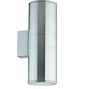 Уличный настенный светильник Ideal Lux Gun AP2 BIg Alluminio