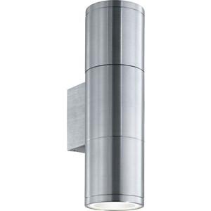 Уличный настенный светильник Ideal Lux Gun AP2 Small Alluminio