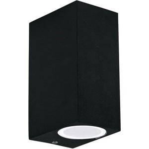 цены Уличный настенный светильник Ideal Lux Up AP2 Nero