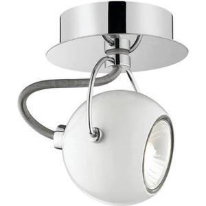 все цены на Спот Ideal Lux Lunare AP1 Bianco онлайн