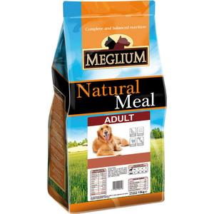Сухой корм MEGLIUM Natural Meal Dog Adult для взрослых собак 15кг (MS0115)