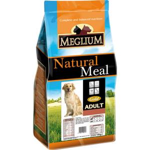 Сухой корм MEGLIUM Natural Meal Dog Adult Gold Breeders для взрослых собак 20кг (MS1320) фото