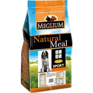 Сухой корм MEGLIUM Natural Meal Dog Adult Sport Gold для активных собак 3кг (MS2603)