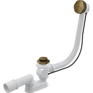 Слив-перелив для ванны AlcaPlast под бронзу (A55ANTIC-100)