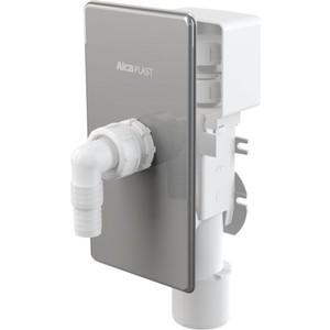 Сифон AlcaPlast для для стиральной машины под штукатурку c вентиляционным клапаном, нержавеющая сталь (APS3P) ручка люка стиральной машины