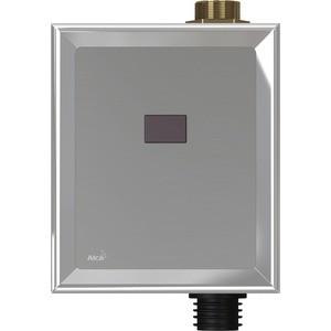 Панель смыва бесконтактная AlcaPlast 12V питание от сети, металл (ASP3-K)