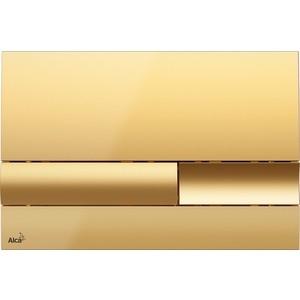 Кнопка смыва AlcaPlast золотая (M1745)