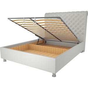 Кровать OrthoSleep Симона механизм и ящик белый 200х200 кровать orthosleep ниагара механизм и ящик белый 200х200