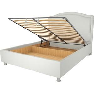 Кровать OrthoSleep Калифорния механизм и ящик белый 80х200