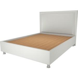 Кровать OrthoSleep Нью Йорк жесткое основание белый 160х200 кровать orthosleep нью йорк бисквит жесткое основание 160х200