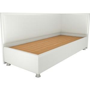 Кровать OrthoSleep Бибионе Лайт жесткое основание белый 80х200