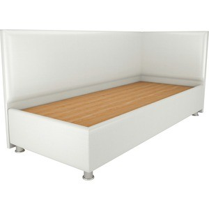 Кровать OrthoSleep Бибионе Лайт жесткое основание белый 90х200