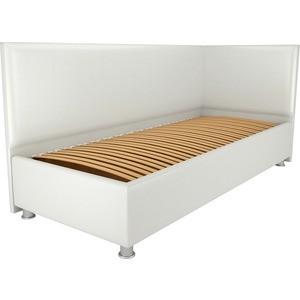 Кровать OrthoSleep Бибионе Лайт ортопед. основание белый 120х200