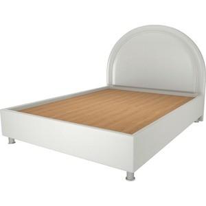 Кровать OrthoSleep Аляска жесткое основание белый 200х200