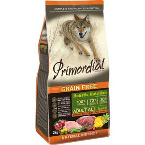 Сухой корм Primordial Grain Free Holistic Dog Adult All Breed with Deer & Turkey беззерновой с олениной и индейкой для собак всех пород 2кг (MSP5602)