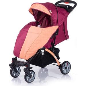 Коляска прогулочная BabyHit Tetra Бордово-оранжевая