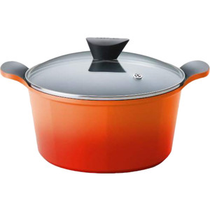 Кастрюля 28см Frybest Orange (ORCA-C28 Orange) кастрюля 28см frybest orange orca c28 orange