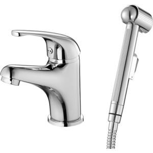 Смеситель для раковины Milardo Davis c гигиеническим душем (DAVSB00M08)