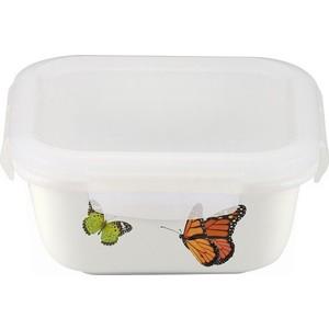 лучшая цена Контейнер фарфор квадратный 460 мл Frybest Attica Butterfly (BF-046)