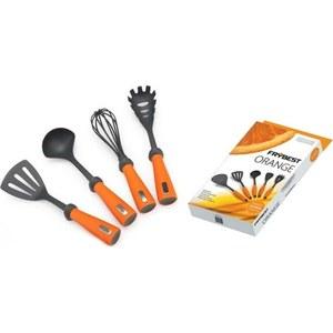 Набор кухонных инструментов Frybest Anzo orange (ORANGE013) ложка для мороженого frybest anzo orange orange008